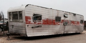 I lived in an old trailer similar to this one.