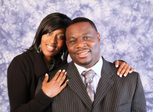 Pastor Braxton and Kisha