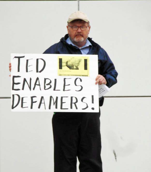 TED Enables Defamers - Crocker Art Museum - Sacramento